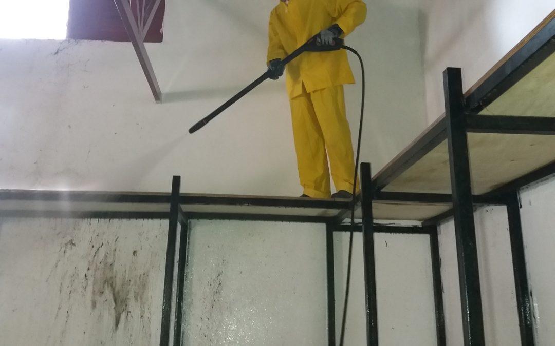 Άλλο ένα έργο στον τομέα της καθαριότητας και των μικροεπισκευών